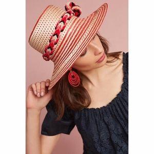 Anthropologie Guajiro Boater Hat By Guanabana